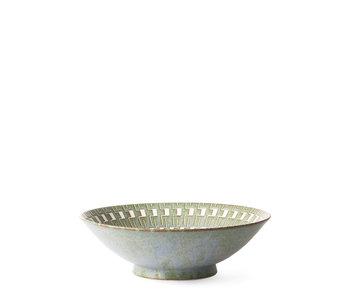 HK Living Kyoto Ceramics Japanese Salad Bowl
