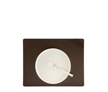 Skinnatur Placemat Rectangular Coffee Bean