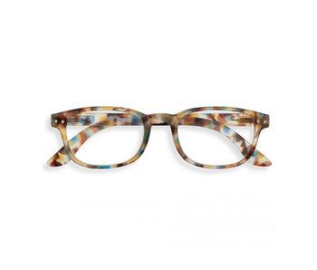 Izipizi Reading Glasses - Leesbril #B Blue Tortoise