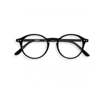 Izipizi Reading Glasses - Leesbril #D Black