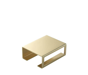 By Lassen Matchbox Cover Brass