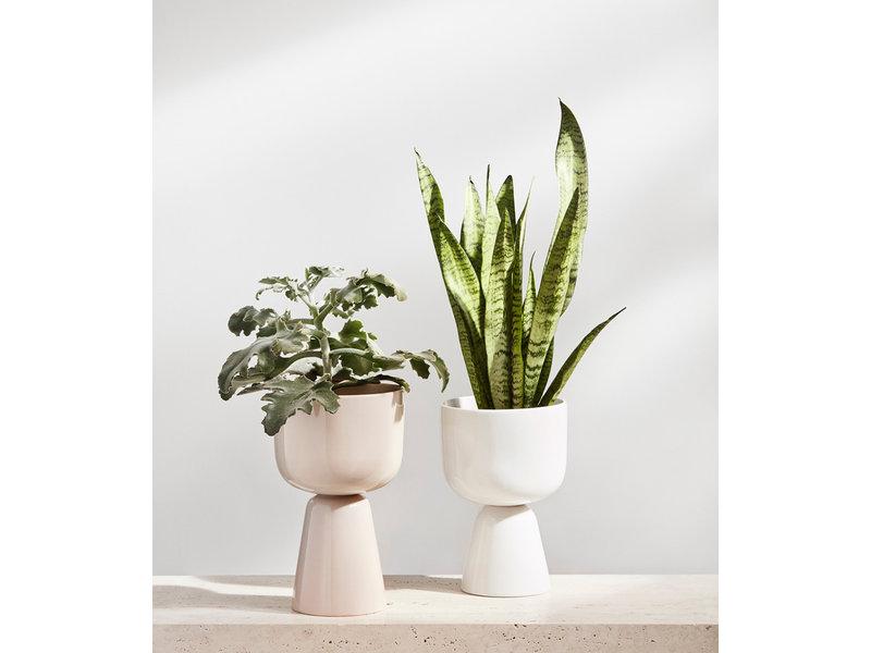 Iittala Nappula Plant Pot 230/155 White