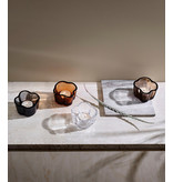 Iittala Alvar Aalto Tealight Holder Clear