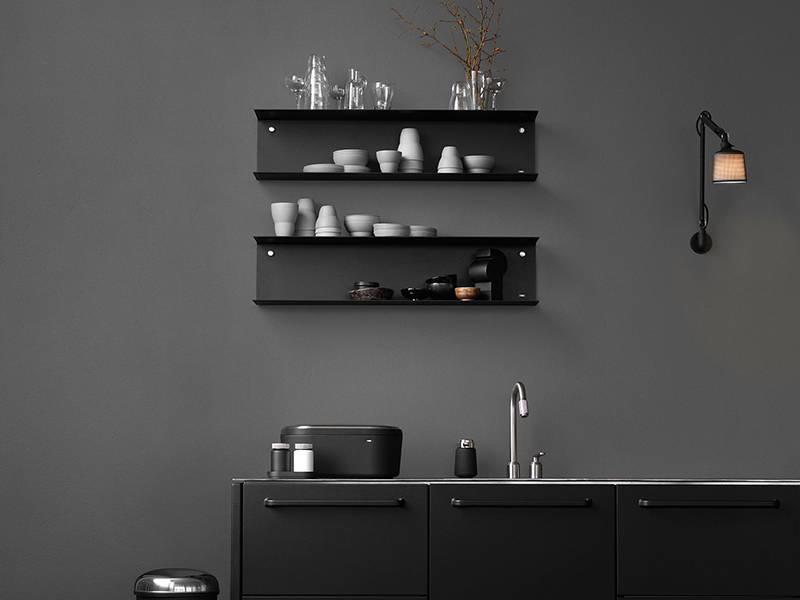Vipp 922 Shelf Large Black