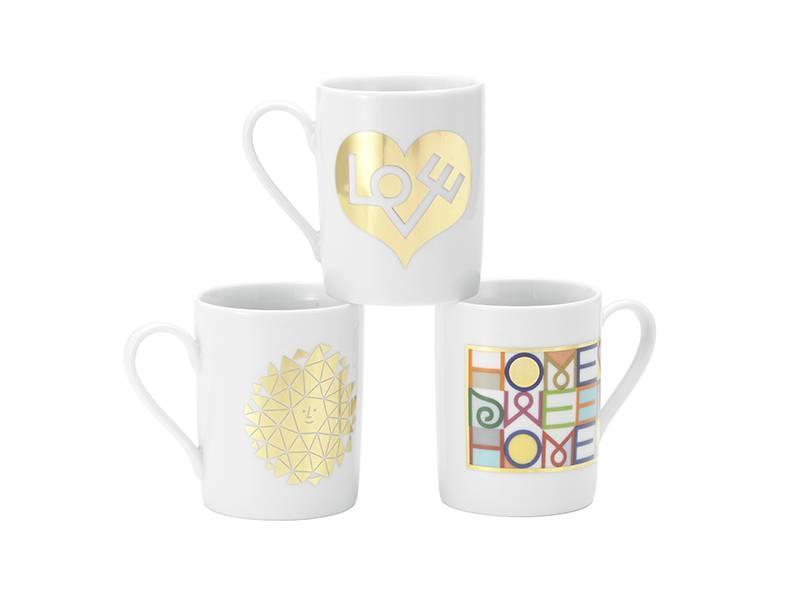 Vitra Coffee Mug Love Heart Gold