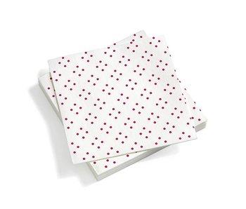 Vitra Paper Napkin Dark Pink