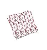 Vitra Paper Napkin Grid Pink