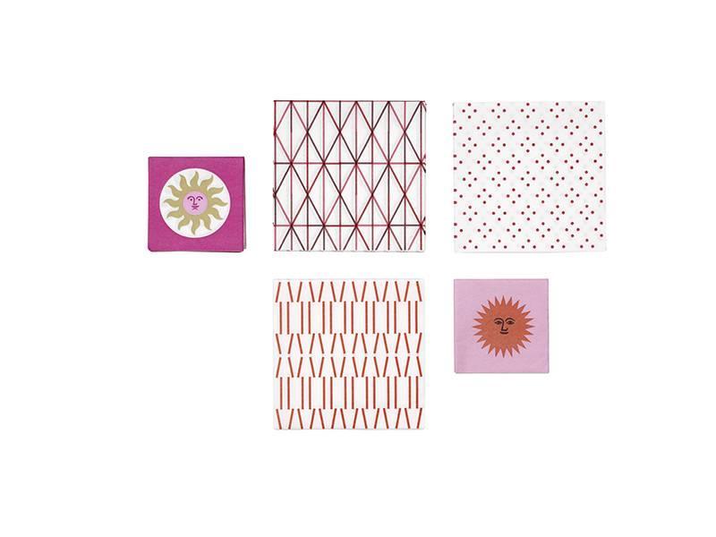 Vitra Paper Napkin Pink Gold