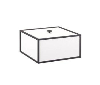 By Lassen Frame Box 20 White