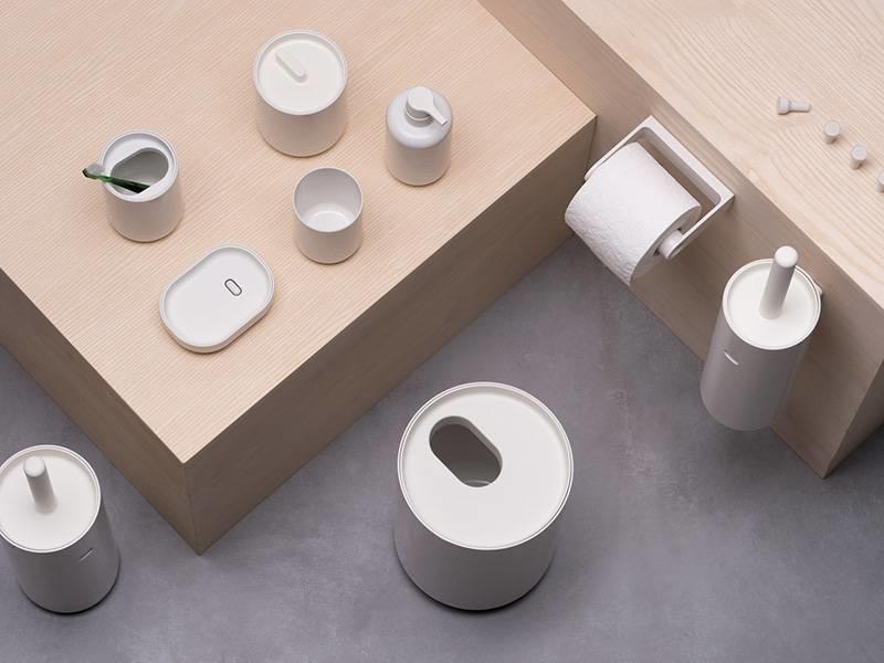 Authentics Lunar Toilet Brush Grey