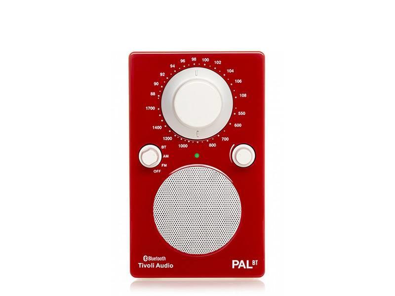 Tivoli Audio PAL BT Red/White