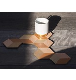 Areaware Table Tiles Terracotta 6 pcs.