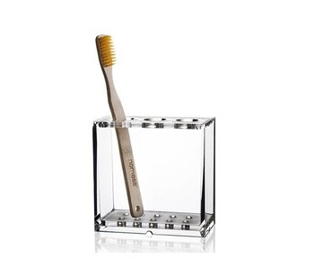 Nomess Clear Toothbrush Holder