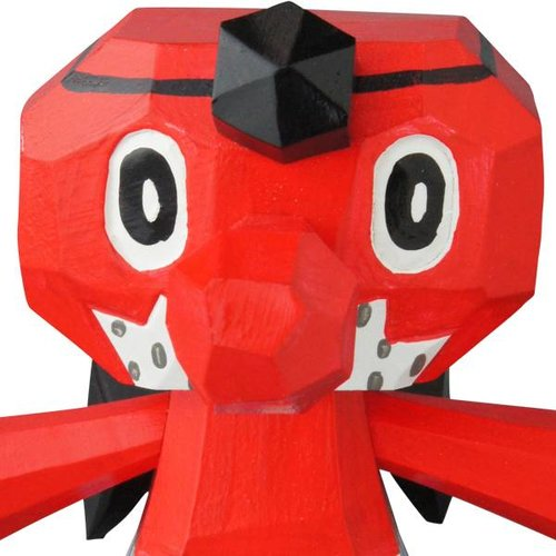 "4"" Good Luck Fortune Tengu (Polka) by Kenji Murabayashi"