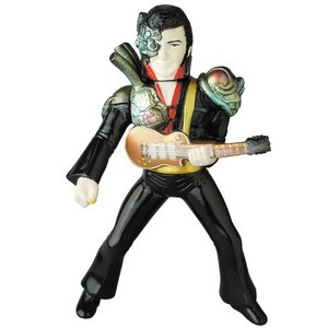 "10"" Mecha Elvis (Black) by AbeToru"