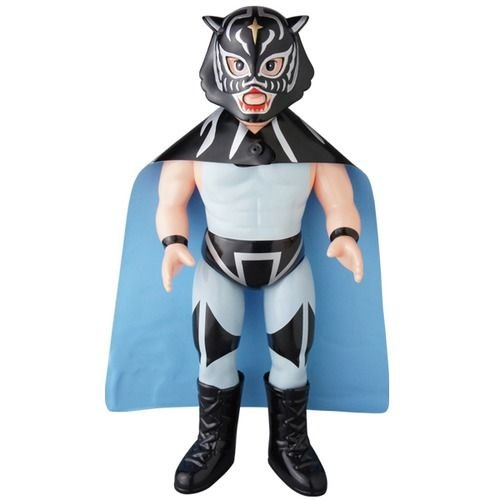 "10"" Tiger Mask (Black) Sofubi"