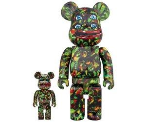 Medicom Toy Be@rbrick Bearbrick NAGNAGNAG YOTSUME 400/% and 100/% set Figure New