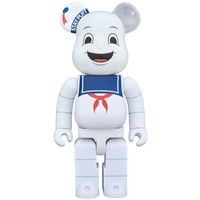 400% Bearbrick - Stay Puft (Ghostbusters)