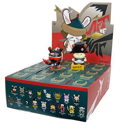 Kidrobot Art of War Dunny Series - Sealed Case [20 pcs]