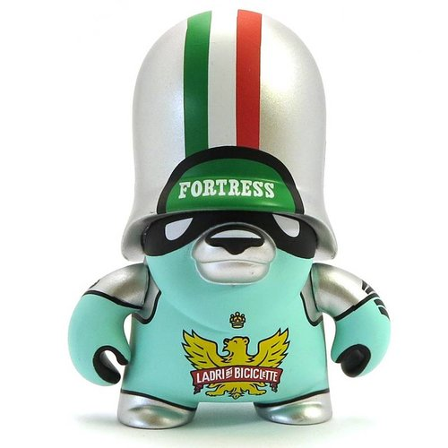 Ladri di Biciclette Silver (Teddy Troops 2.0) by Flying Fortress
