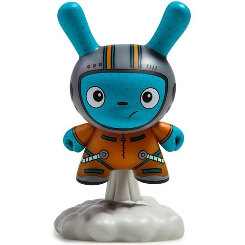 Kidrobot Blast Off (Orange) 2/24 The Bots - DTA Dunny Series