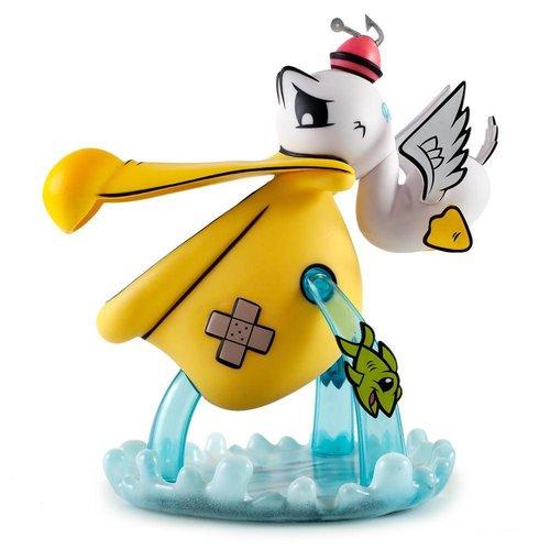 """Kidrobot 10"""" Pelican't by Joe Ledbetter"""