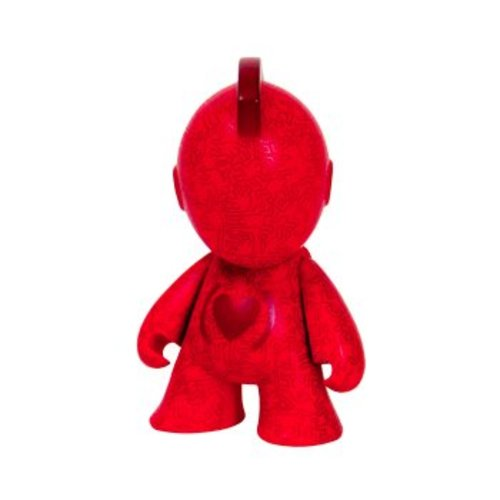 "3"" Keith Haring 'Bot by KIDROBOT x (RED)"