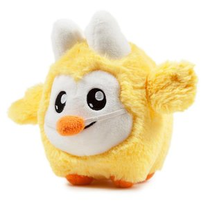 "Kidrobot 4.5"" Springtime Litton Plush (Chick) by Frank Kozik x Kidrobot"