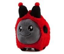 "4.5"" Springtime Litton Plush (Ladybug) by Frank Kozik x Kidrobot"