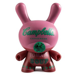 """8"""" Campbells Soup Can Dunny by Andy Warhol x Kidrobot"""