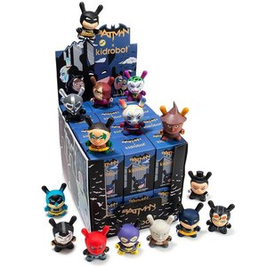 "Kidrobot 3"" Batman Dunny Series by DC Comics - Sealed Case (24 pieces)"