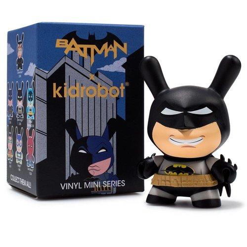 "Kidrobot 3"" Batman Dunny Series by DC Comics - Sealed Case (24 pieces)"