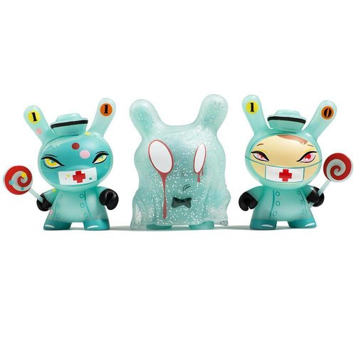"Kidrobot ""The 13"" GID Dunny series by Brandt Peters - Sealed Case (20 Pieces)"
