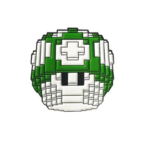 Creamlab Mushroom Pin (Soft Enamel) by Vuitbits