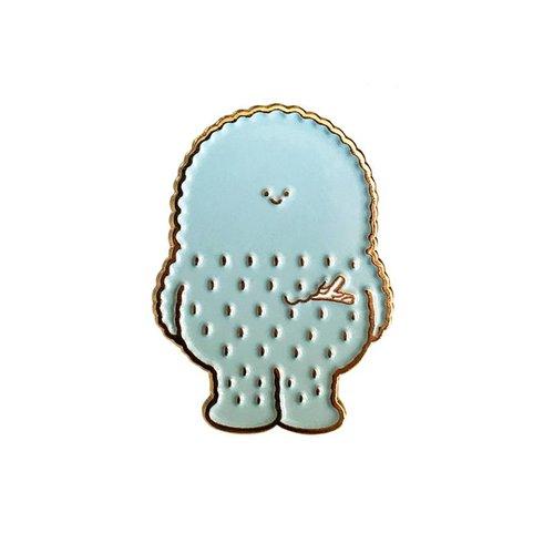 Creamlab Treeson Pin (Soft Enamel) by Bubi Au Yeung