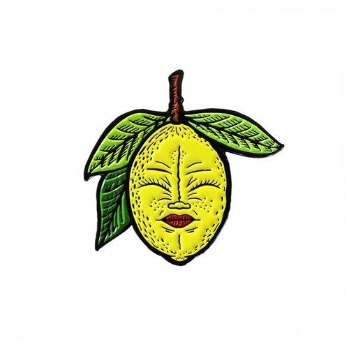 Creamlab Lemony Pin (Soft Enamel) by Creamlab