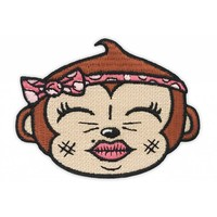 Plukkie Embroidered patch by Creamlab