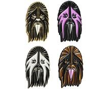 Heavy Metal Wookie Pin by I Break Toys