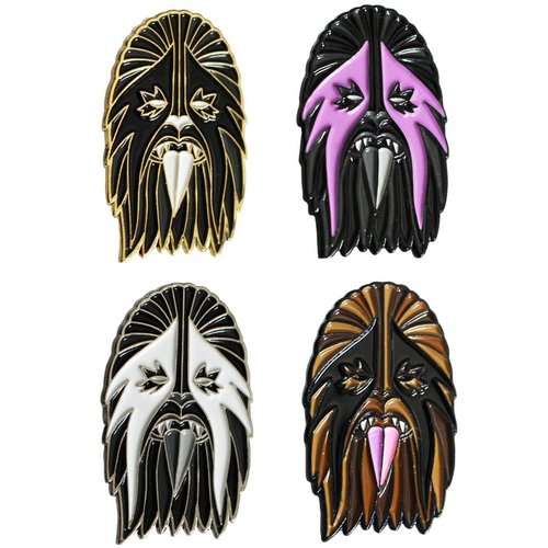 Creamlab Heavy Metal Wookie Pin by I Break Toys