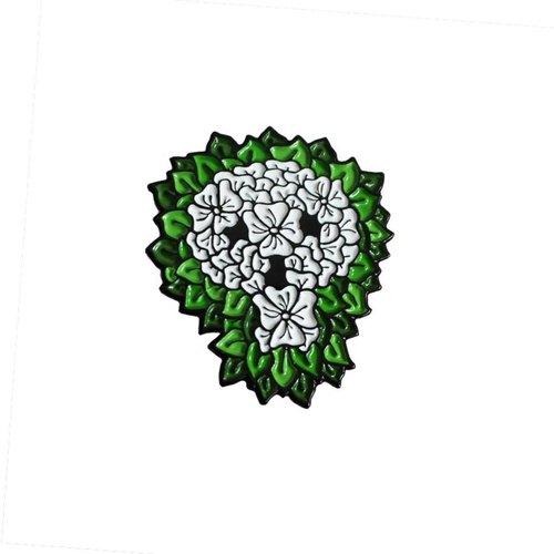 Creamlab Reaper Skull Pin (Soft Enamel) by David Stevenson