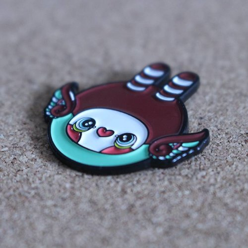 Creamlab Mini Hoot Pin (Soft Enamel) by Tomodachi Island