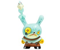 """Hay Man (GID) 2/20 - Dunny """"The 13"""" GID Dunny series by Brandt Peters"""