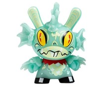 """FISH! (GID) 2/20 - Dunny """"The 13"""" GID Dunny series by Brandt Peters"""