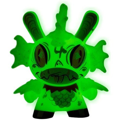 "FISH! (GID) 2/20 - Dunny ""The 13"" GID Dunny series by Brandt Peters"
