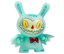 """Mr. Gloom (GID) 2/20 - Dunny """"The 13"""" GID Dunny series by Brandt Peters"""