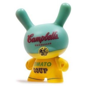 Kidrobot Campbells Soup Can (Yellow) 3/24 - Andy Warhol Dunny series 2