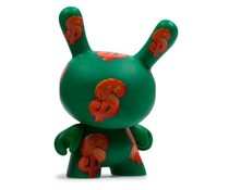 Dollar Sign (Green) 3/24 - Andy Warhol Dunny series 2
