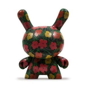 Flower Pattern 2/24 - Andy Warhol Dunny series 2