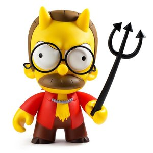 "Kidrobot 6.5"" Devil Flanders (The Simpsons) by Matt Groening"