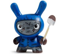 Cyrus Grave Digger (Blue) 2/24 - Scared Silly  Dunny series